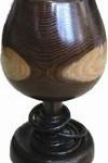 木製の花瓶