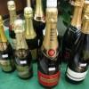 クリスマスにはシャンパン