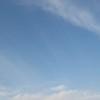 うっすらと雲がありますが~