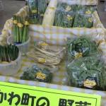 野菜コーナーを全面に~
