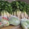 漬物用野菜の入荷