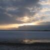 朝のウトナイ湖