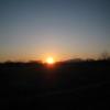 苫小牧の夕陽