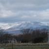 苫小牧の空No.1592 雪の樽前山
