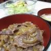 むかわ和牛の牛丼