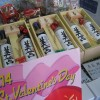 チョコを付けてバレンタイン~