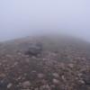 霧の樽前山
